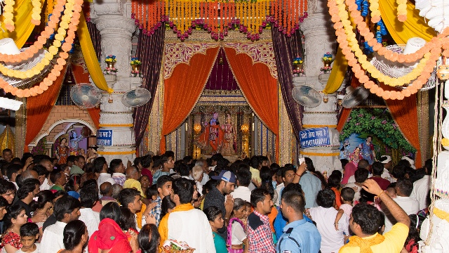 Jagatguru Kripalu Prishat Celebrates Janmashtami With Fervor