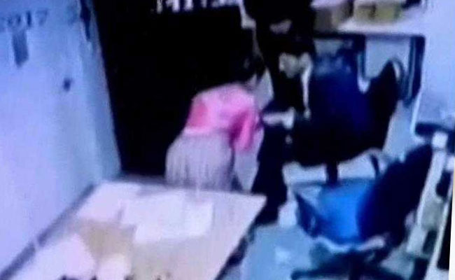 Sexual harassment caught on camera