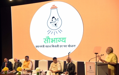 Modi launches free power connection scheme for 4 cr rural households (Second Lead)
