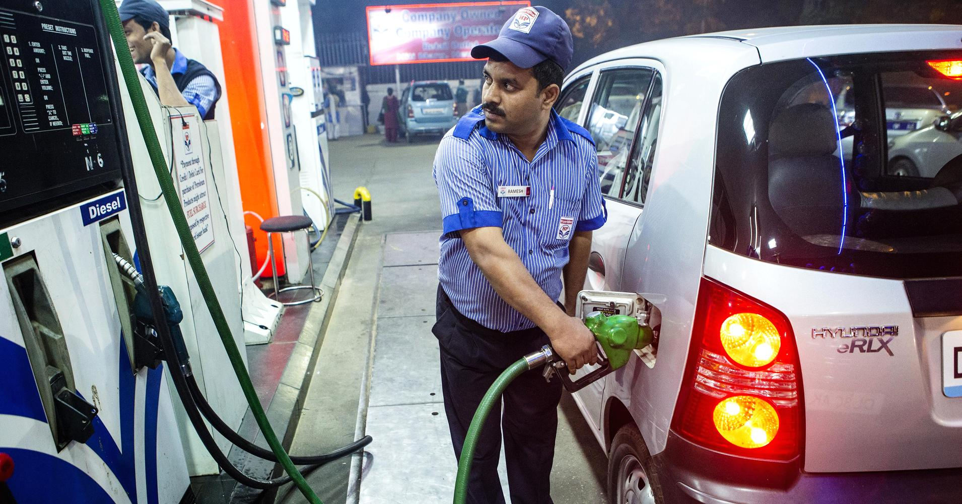 Image result for petrol bunk in india
