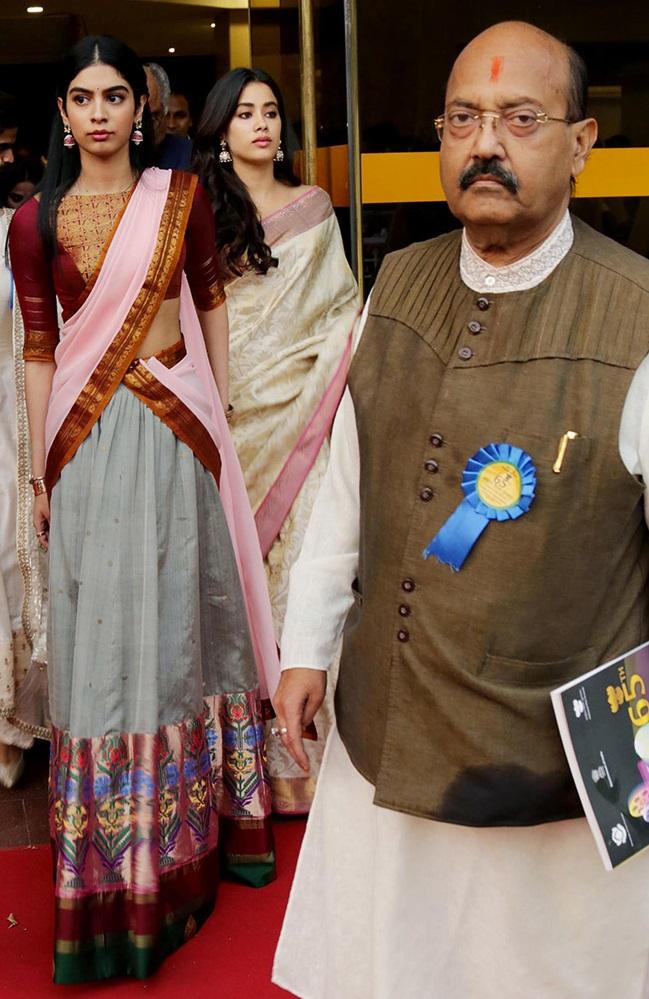 Jhanvi Kapoor, Khushi Kapoor, Sridevi, Boney Kapoor, Ram Nath Kovind, Manish Malhotra, Best Actress award, 65th National Film Awards, Bollywood news, Entertainment news