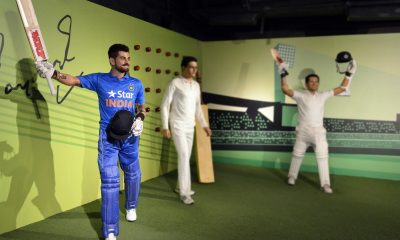 Virat Kohli, Madame Tussauds, Lionel Messi, Kapil Dev, Usian Bolt, Madame Tussauds museum in New Delhi, Indian cricket team skipper, Indian cricket team captain, Indian cricket team jersey, Cricket news, Sports news