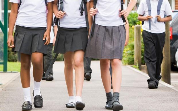 Girls in Australian schools, Australian school girls, Shorts, Pants, School uniform, Australia, World news, Offbeat news