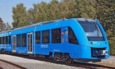 Hydrogen train, Coradia iLint trains, Diesel train, Alstom, World's first hydrogen-powered train, Germany, German, World news, Technology news, Science news, Offbeat news