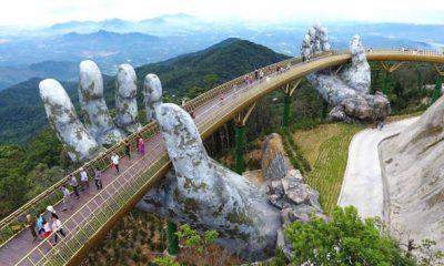 Hand Bridge, Golden Bridge, Vietnam Bridge, Flyovers, Railway pulls, Railway overhead bridge, Foot-over bridge, Subways, Underpass, River Bridges, Sea-links, Weird news, Offbeat news