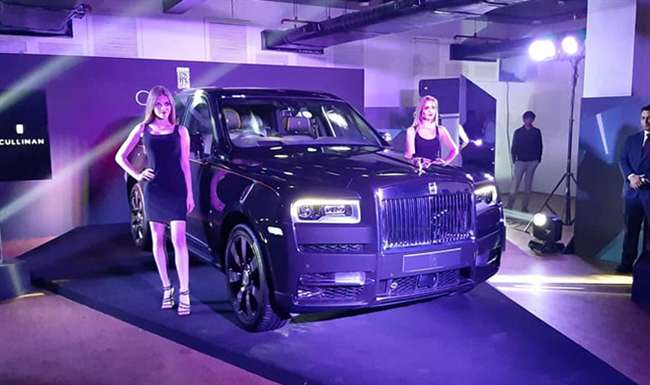 Rolls Royce Launches World S Most Luxurious Car Cullinan
