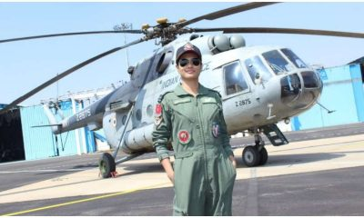 Hina Jaiswal, Flight Lieutenant, Indian Air Force, IAF, Helicopter, First woman Flight engineer, Indian woman flight engineer, National news