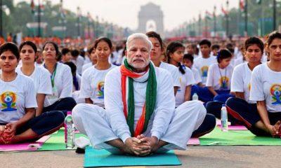 International Yoga Day, Narendra Modi, Yogi Adityanath, Prime Minister, Chief Minister, Lucknow, Uttar Pradesh, Regional news, National news