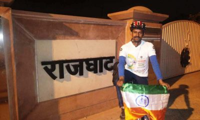 Cycle rally, swachta abhiyaan, cleanliness drive, Mahendra Nath Pandey , Yogi Adityanath, PM Narendra Modi, Regional News