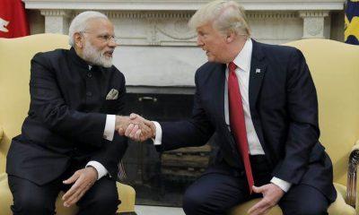Narendra Modi, Donald Trump, Rose Garden, White House, Washington, World news