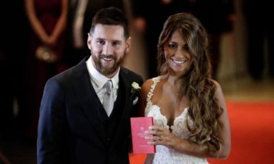 Lionel Messi, Antonela Roccuzzo, Lionel Messi has married childhood sweetheart, Football, Soccor news, Sports news