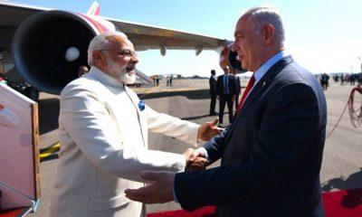 Narendra Modi, Benjamin Netanyahu, Indian Prime Minister, Israel Prime Minister, India, Israel, World news