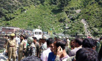 Amarnath Yatra, Amarnath pilgrims,Bus fell into gorge, Amarnath, Jammu