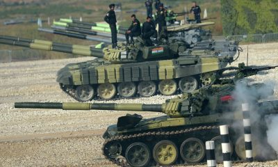 Indian army, Chinese military, Battle of tanks, International Army Games, Moscow, Russia, India, China, World news
