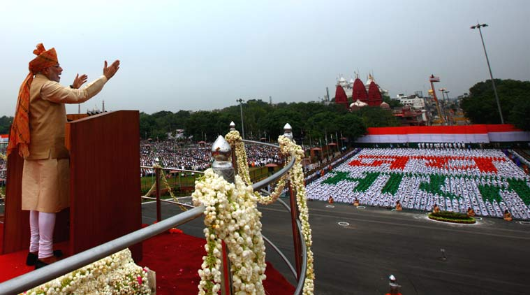 Narendra Modi, PM Narendra Modi, Independence Day, Narendra Modi speech on Independence Day, Red Fort, New Delhi, National News