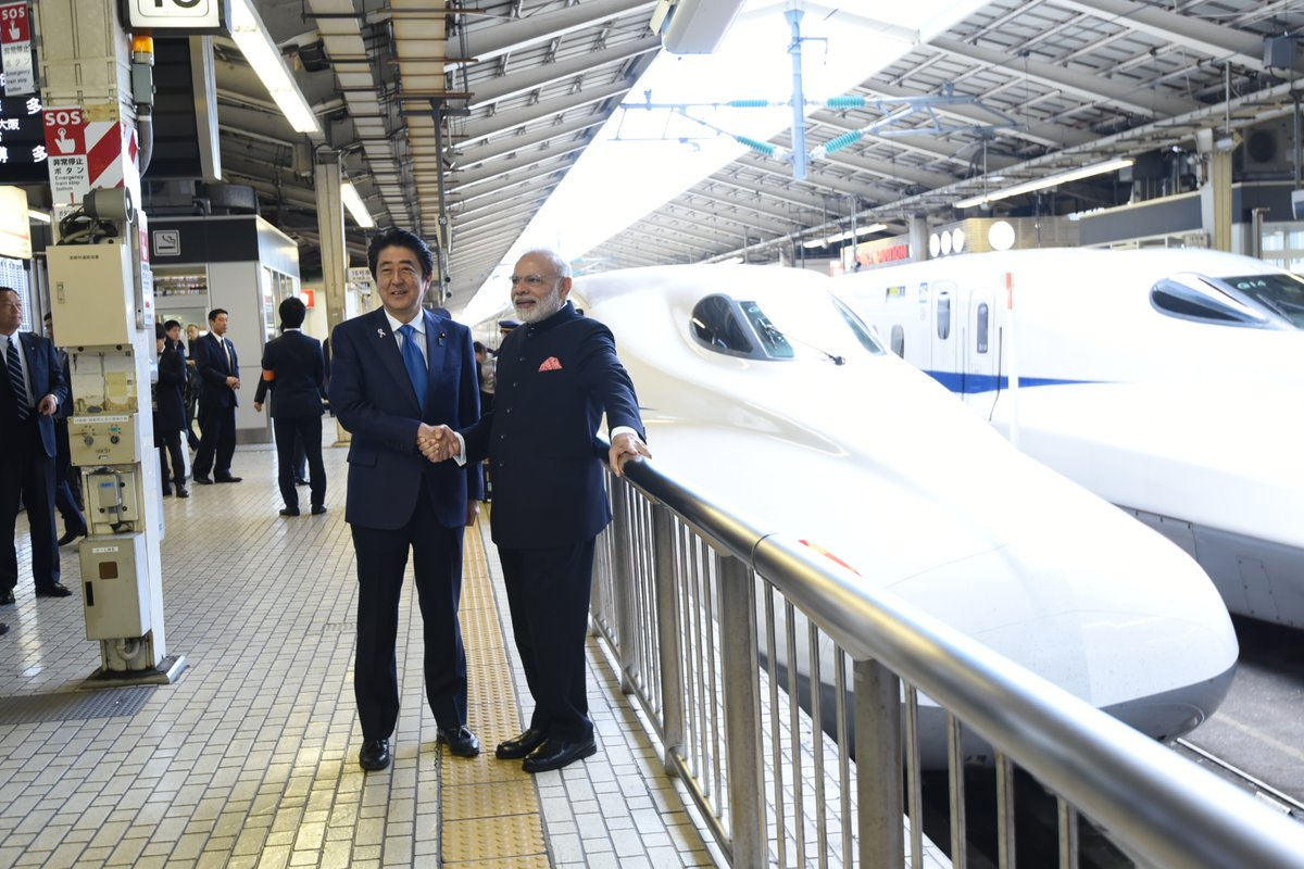 Bullet Train, India first bullet train, Ahmedabad, Mumbai, Narendra Modi, Shinzo Abe, Japan Prime Minister, Indian Prime Minister, National news