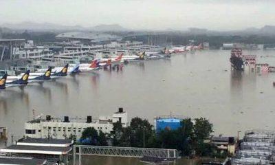 Heavy rain hits operations at Chennai airport