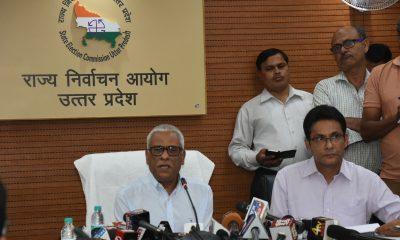 Uttar Pradesh State Election Commission, Municipal body polls, Electronic Voting Machines, EVMs, Bharatiya Janata Party, Bahujan Samaj Party, Samajwadi Party, Congress, Uttar Pradesh news, Regional news