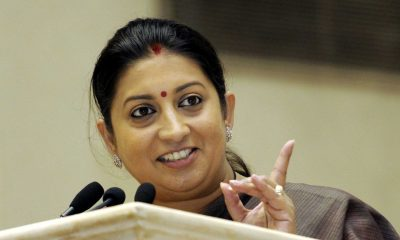 Smriti Irani, demonetisation, Sonia Gandhi, Rahul Gandhi, Narendra Modi, Congress President, National news