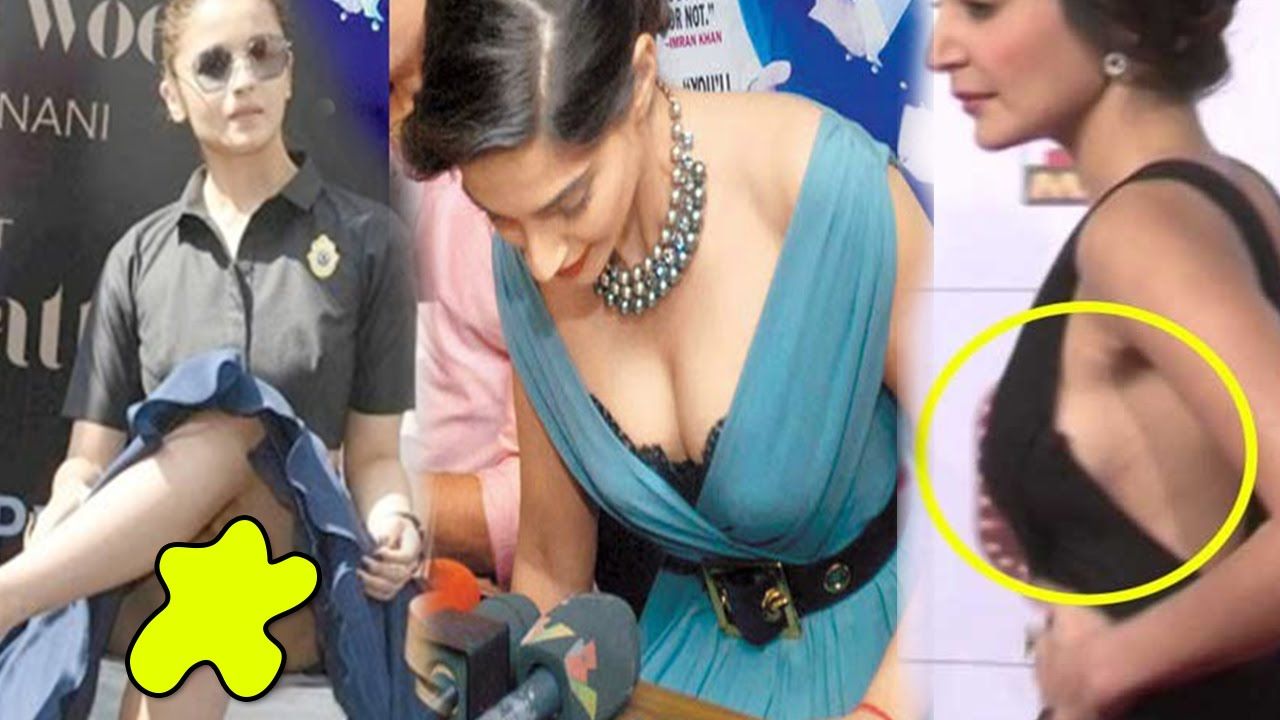 Oops Bollywood Actresses Who Suffered Embarrassing Wardrobe