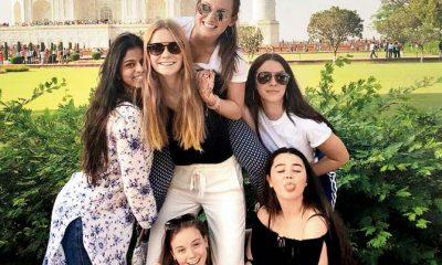 Suhana Khan, Shahrukh Khan, Gauri Khan, Suhana Khan makes trip to Taj Mahal, Suhana Khan visits Taj Mahal, Suhana Khan dates with Taj Mahal, Bollywood news, Entertainment news