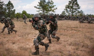 Vijay Prahar, Indian army, Indian Air Force, Indian army troops, Military drill, Gagan Shakti, Pakistan border, Rajasthan, National news