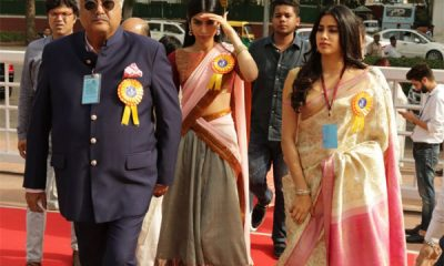 Jhanvi Kapoor, Khushi Kapoor, Sridevi, Boney Kapoor, Ram Nath Kovind, Manish Malhotra, Best Actress award, 65th National Film Awards, Bollywood news, Entertainment news