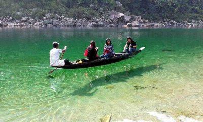 Umngot river, Summer holidays, Tourist destination, Cleanest river in India, Dawki, Meghalaya, India Bangladesh border, Weird news, Offbeat news