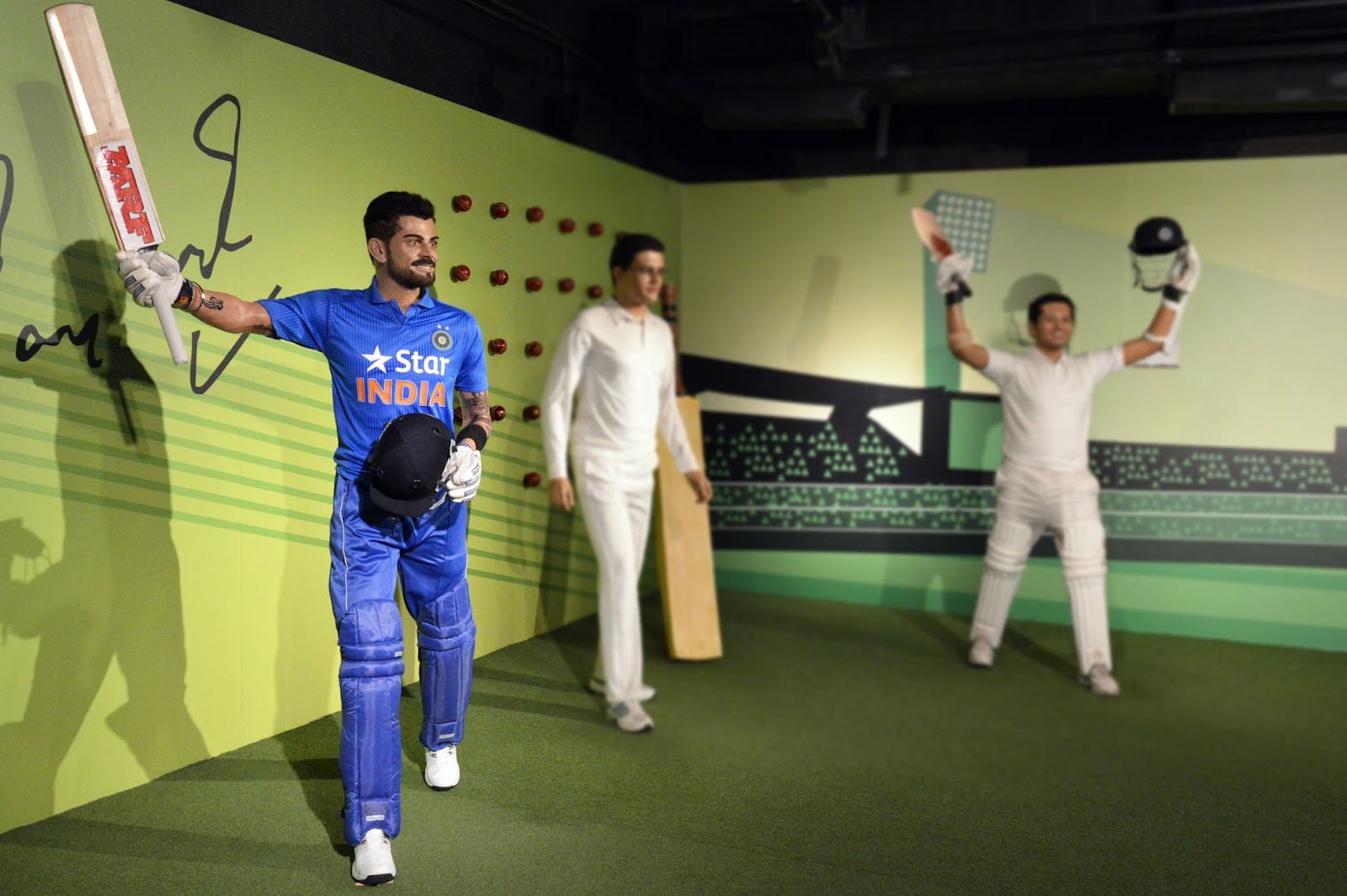 Virat Kohli, Madame Tussauds, Lionel Messi, Kapil Dev, Usian Bolt, Madame Tussauds museum in New Delhi, Indian cricket team skipper, Indian cricket team captain, Indian cricket team jersey, Cricket news, Sports news