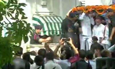 Atal Bihari Vajpayee, Former Prime Minister, Former Indian Prime Minister, Mortal remains of Vajpayee, BJP headquarters, Rashtriya Smriti Sthal, Last rights of AtalBihari Vajpayee, National news