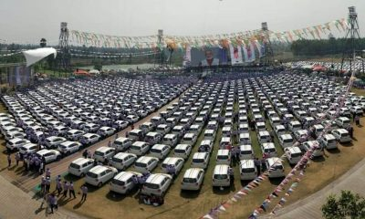 Diwali festival, Diamond merchant, Surat diamond merchant, 600 cars given as Diwali gift, Festival of lights Savji Dholakia, Billionaire diamond merchant, Renault Kwid, Maruti Celerio, Hare Krishna exports, Largest diamond exporting companies, Surat, Gujarat, Weird news, Offbeat news