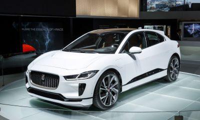 Jaguar, Jaguar I-PACE, SUV, Electronic SUV of Jaguar, Paris Auto Expo, Car exhibitions, Jaguar new car, Automobile news, Car and Bike news