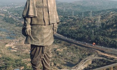 Statue of Unity, Spring Temple Buddha, Statue of Liberty, Valley of flowers, Sardar Vallabhbhai Patel, Narendra Modi, Sadhu Bet Island, Narmada river, World tallest Statue, Chief Minister Vijay Rupani, Kevadia, Gujarat, National news