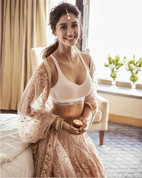 Disha Patani, Sports bra, Filmfare, Instagram, Bollywood actress Disha Patani, Lehenga with Sports Bra, Bollywood news, Entertainment news