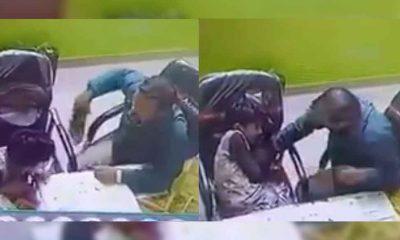 Tutor, Tutor caught on CCTV beating boy, CCTV camera, CCTV footage, Seven-year-old boy, Aligarh, Uttar Pradesh, Regional news, Crime news