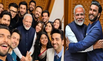 Narendra Modi, Karan Johar, Ranveer Singh, Ranbir Kapoor, Alia Bhatt, Varun Dhawan, Rohit Shetty, Rajkummar Rao, Vicky Kaushal, Ayushmann Khurrana, Bhumi Pednekar, Sidharth Malhotra, Ajay Devgn, Akshay Kumar, Karan Johar, Sidharth Roy Kapur, Ritesh Sidhwani, Prime Minister, Bollywood stars, Bollywood celebrities, Bollywood news, Bollywood actors, Bollywood actress, Entertainment news