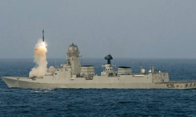 LRSAM, Long Range Surface-to-Air Missile, INS Chennai, Indian navy, National news, Technology news