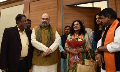 Moushumi Chatterjee, Amit Shah, Lok Sabha elections, Lok Sabha polls, General elections, Bharatiya Janata Party, Veteran Bollywood actress, National news, Politics news