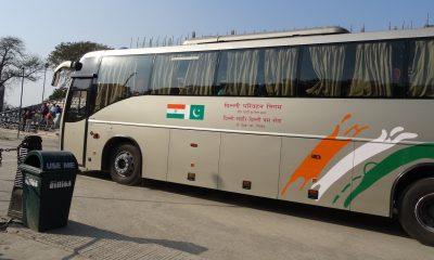 Pakistani bus, Sada-e-Sarhad, CRPF troopers, CRPF soldiers, CRPF convoy, Pulwama terror attack, Lahore to New Delhi, Amritsar, Punjab, National news