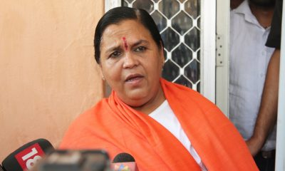 Uma Bharti, Kangana Ranaut, BJP leader, Bharatiya Janata Party, Manikarnika: The Queen of Jhansi, Bollywood news, Entertainment news