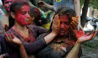 Holi, Holika Dahan, Holi festival, Holi celebrations, Festival of colours, Holi colours, Happy Holi, Holi greetings, Holi wishes, Holi messages, Holi wallpapers, Holi GIF, Holi images, Bollywood actors, Bollywood actress, Bollywood news