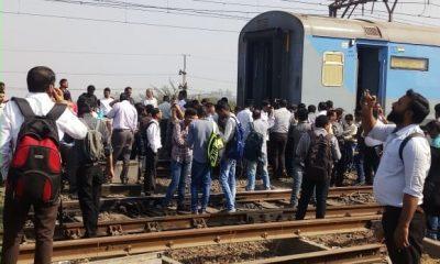 Engine, Coaches, Train, Mumbai bound train, Engine detached with coaches of train, Coaches of train detached from engine, Central Railway, Manmad-Mumbai Panchavati Express, Chhatrapati Shivaji Maharaj Terminus, Mumbai, Regional news, Weird news