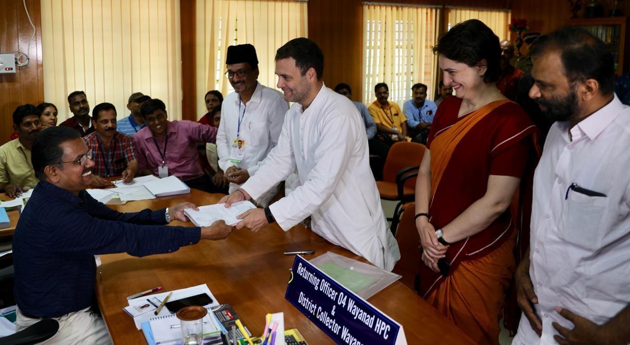 Rahul Gandhi, Priyanka Gandhi, Congress President, Lok Sabha polls, Lok Sabha elections, Wayanad, Kerala, National news, Politics news