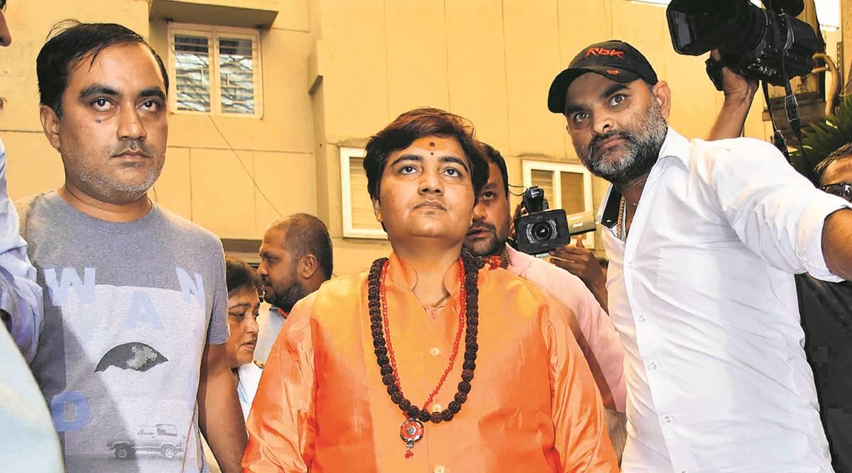Sadhvi Pragya, Hemant Karkare, Digvijaya Singh, Mumbai ATS chief, Lok Sabha polls, Lok Sabha elections, The 26-11 terror attack, Bhopal, Madhya Pradesh, Regional news