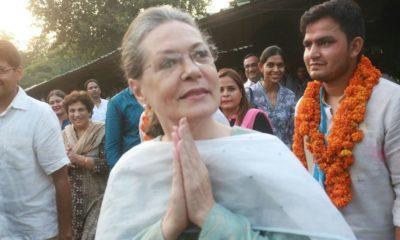Sonia Gandhi, Congress leader, UPA chairperson, Nomination paper, Lok Sabha polls, Lok Sabha elections, Rae Bareli, Uttar Pradesh, Regional news, Politics news