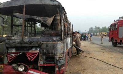 Agra Lucknow Expressway Bus truck collision, Varanasi-bound passenger bus, Mainpuri, Uttar Pradesh, Regional news