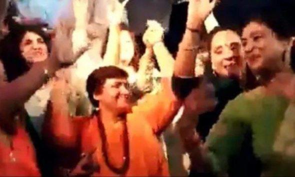 Pragya Thakur, BJP candidate, Dancing video of Pragya Thakur, Viral video of Pragya Thakur, Lok Sabha polls, Lok Sabha elections, Bhopal, Madhya Pradesh, Politics news