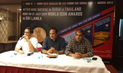 World Icon Awards, Dushyant Singh, Mahinda Rajapaksa, Bandaranaike Memorial International Conference Hall, BMICH, Sri Lanka, Colombo