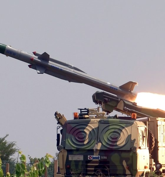 Akash-MS-1S, Defence Research and Development Organisation, DRDO, India, Chandipur, Odisha, Scince and Technology news