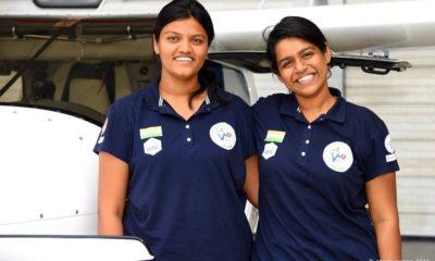 Aarohi Pandit, Keithair Misquitta, Mumbai girl, Atlantic Ocean, Female pilot, World first woman, Light Sports Aircraft, World news